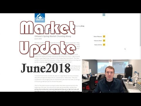 June 2018 Ottawa Real Estate Market Update